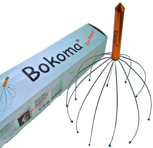 Bokoma Kopfmassagegerät - DAS Massageerlebnis - Genießen Sie den einmaligen Kopfmassager!
