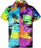 V.H.O. Funky Camicia Hawaiana, Mondy Surf, Multicolore, 4XL