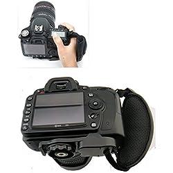Flycoo Sangle Poignet Poignée Dragonne pour Caméra Appareils Photo Numériques Pour Canon Pentax Minolta Canon EOS 700D , 100D / Nikon D3300 , D5300 / Pentax Et Plus DSLR