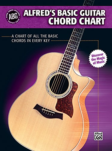 Alfred's Basic Guitar Chord Chart: A Chart of All the Basic Chords in Every Key (Alfred's Basic Guitar Library) (Guitar Chart Basic Chord)