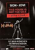 TheConcertPoster Bon Jovi - This House, München 2019 |