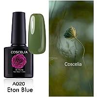 Coscelia 1pc Esmaltes de Uñas Semi Permanente Gel Polish Soak Off UV LED Nail Art Manicura de 10ml-1020
