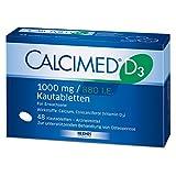 Calcimed D3 1000 Mg/880 I.E. Kautabletten, 48 St