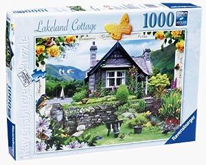 Ravensburger - Puzzle (1000 Piezas), diseño de casa de Campo