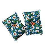 """Mini cuscino """"Dormi Bene"""" (confezione con 2 unità) pieno di semi di lavanda bio - mettilo sotto al tuo cuscino o guanciale per conciliare il sonno, calmare i nervi e rilassarti. 13x10cm"""