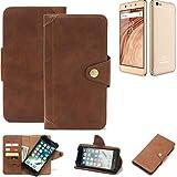 K-S-Trade for Blaupunkt SL02 Wallet Case Mobile Phone