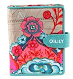 Oilily Fantasy Flora S Flap Wallet Biscuit