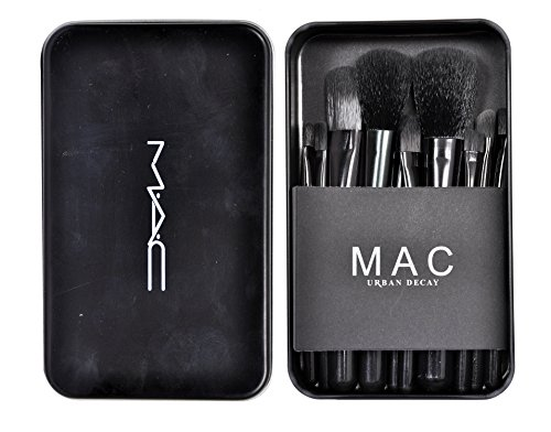 VERGE MAC 12pcs Cosmetic Makeup Brush Set
