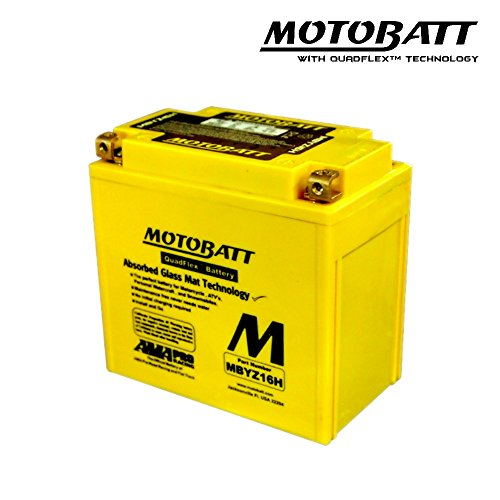 Motobatt MBYZ16H-Batteria Moto