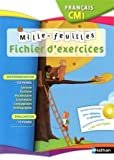 Image de Français CM1 Mille-feuilles : Ficher d'exercices (1CD audio)