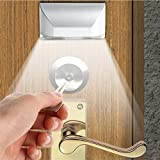 IPUIS Keyhole Light Lamp PIR Infrared IR Wireless Auto Sensor Motion Detector Door Keyhole 4 LED Light lamp Stick-on Anywhere Tap Lights LED Night Light for Key Hole/Door Lock