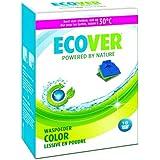 Ecover - 4000603 - Lessive - Poudre pour Couleurs Vives - 1,2 kg