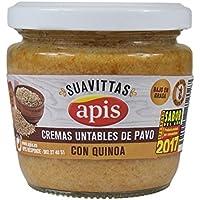 Apis Crema de Pavo con Quínoa - Paquete de 8 x 160 gr - Total: 1280 gr