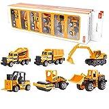 ZREAL 6 Stücke/7 Stücke Auto Kinder Traktor Geschenk Spielzeug Alufelgen Rutsche Vorne Auto Lernspielzeug Modell Geschenk