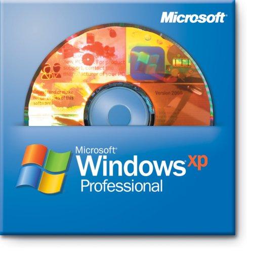 Microsoft Windows XP Professional 32-bit OEM Englisch, 1 PC