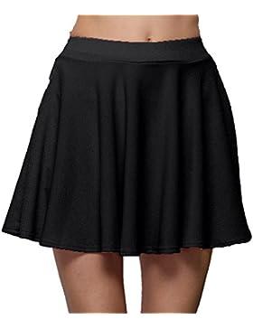 FAMILIZO_Faldas Cortas Mujer Verano Faldas Tubo De Moda Faldas Tul Mujer Faldas Altas De Cintura Faldas Acampanadas...