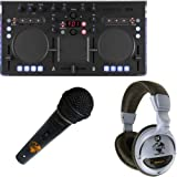 Korg Kaoss DJ + Kopfhörer + Mikrofon Set