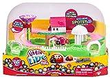 Little Live Pets 34718 - Kleiner Marienkäfer Garten Spielset mit einem Mamakäfer und einem Babykäferchen, Krabbelkäfer Spielwelt mit exklusiven Marienkäferchen Spotsy, Set für Kinder ab 5 Jahre