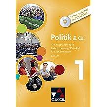 Politik & Co. 1 Sachsen Lehrermaterial: CD-ROM + Booklet. Gemeinschaftskunde/Rechtserziehung/Wirtschaft für das Gymnasium