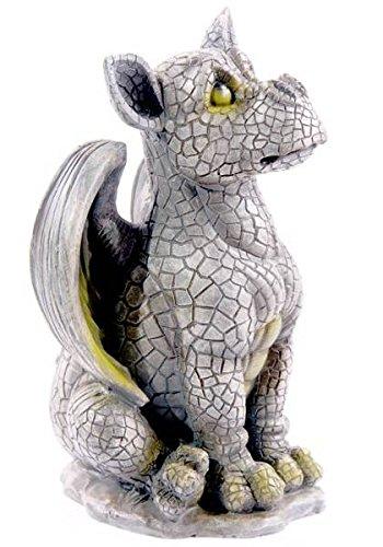 Gartenfigur Gargoyle Drachen Baby - Ich war das nicht ! Wetterfest