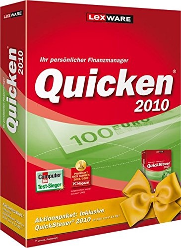 Quicken 2010 (Version 17.00)