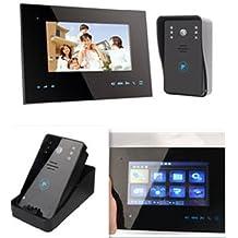 Agente007 - Videoportero Interfono Inalambrico 2.4Ghz Transmision De 200M Y Apertura De Puerta