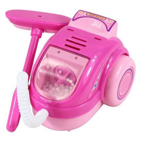 fomccu Mini Staubsauger Spielzeug Pretend Play Haushaltsgeräte Möbel Spielzeug für Mädchen Kinder