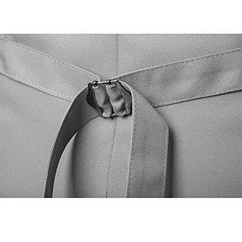 Männer Dünne Art Und Weise Einreiher Einheitliche Farbe Herrklage Weste V-Ausschnitt Jacke 1