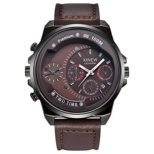 Herren Multifunktionsuhr Neue Herrenuhr Casual Belt Quartz Watch Herren Sportgeschenkuhr Herren Masculino Reloj Hombre