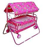#4: Avani MetroBuzz Baby Cradle Cot Cum Stroller Pink