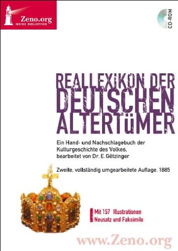 Zeno.org 026 Reallexikon der Deutschen Altertümer (PC+MAC)