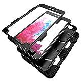 Outdoor Hülle für Samsung Galaxy SM-T280 Cover 7 Zoll 3in1 Stoßfest Hybrid SM-T285 Hardcase und weiche Silikon Schutzhülle Tasche Case