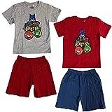 eOne PJ Masks - Pyjamahelden - Zweiteiliger Schlafanzug Pyjamas für Jungen - 2002025