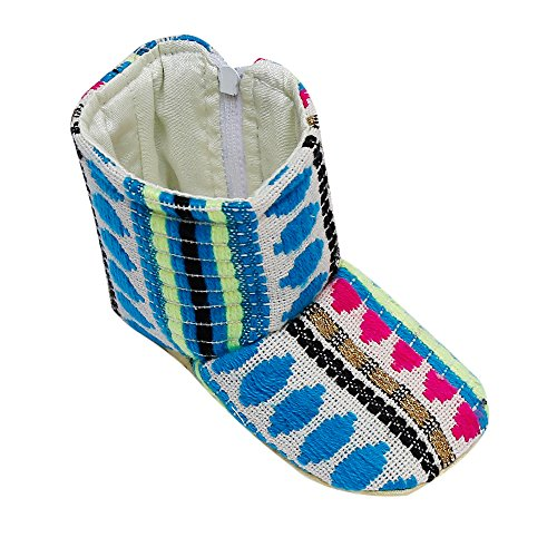 D'chica Chic Printed Soft Soled Boots For Baby Girls  available at amazon for Rs.250