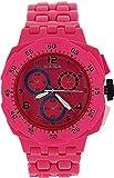ZAZA London PL342 pink - Reloj, correa de plástico color rosa