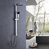 OBEEONR® Duschset mit Handbrause Duscharmatur Regendusche Duschbrause Shower [Regendusche ohne Wasserhahn]