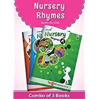 Nurture English Popular Nursery Rhymes Books for Kids | 2 to 5 Year Old Babies | Short Poems with Colourful Pictures for…
