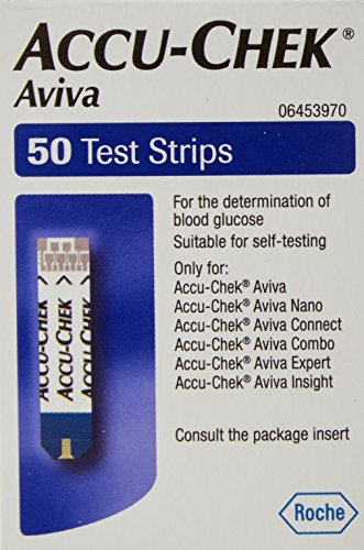 ACCU-CHECK AVIVA TEST STRIPS 50