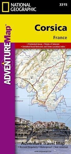 Corsica : 1/150 000 (Adventure map)