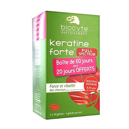 Biocyte Keratine Forte Full Spectrum 3 x 40 Gélules