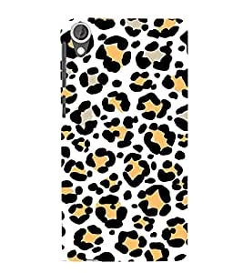 Vizagbeats tiger foot steps Back Case Cover for HTC Desire 820