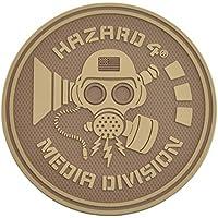 Hazard 4 Rubber Patch MEDIA DIVISION Coyote, Coyote preisvergleich bei billige-tabletten.eu