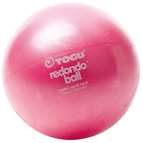 TOGU Redondo Ball 26 cm Gymnastikball Pilatesball, rubinrot