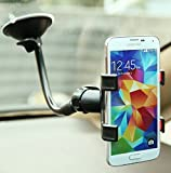 #7: Delhitraderss CAR MOUNT CRADLE MOBILE HOLDER STAND WINDSHIELD GLASS for - Hyundai I10 Grand