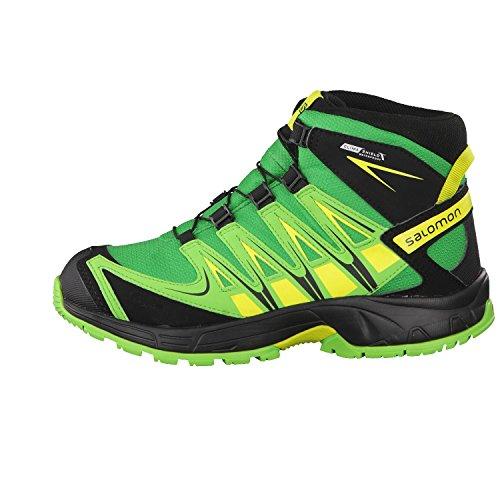 Salomon XA Pro 3D Mid CSWP Kids Athletic Green X Tonic Green Vert