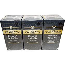 Twinings of London Prince of Wales 3 x 25 Teebeutel