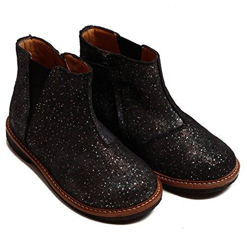 Pom D'Api Suzet Boots Noir Argent