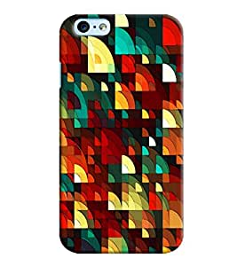 Blue Throat D Square Pattern Printed Designer Back Cover For Apple iPhone 6s