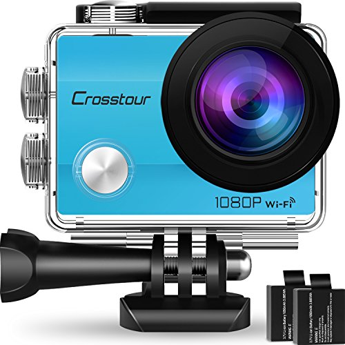 Crosstour Action Kamera 1080P WiFi Full HD Sports Cam 12MP 2