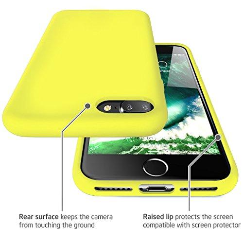 custodia apple iphone 7 gialla